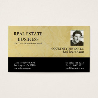 Real Estate Agent Tuscan Sun Business Cards