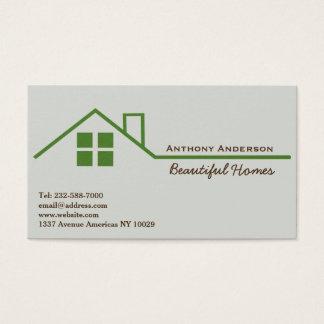 Custom Home Improvement Remodeling Interiors Business Cards - Home remodeling business cards