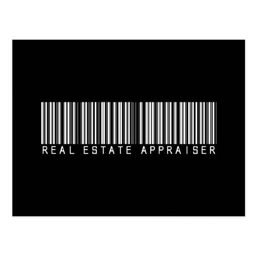 Real Estate Appraiser Bar Code Post Card