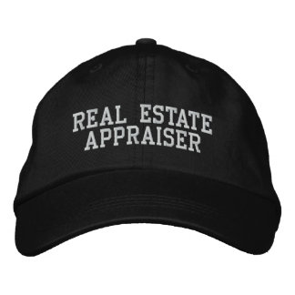 Real Estate Appraiser Embroidered Hat