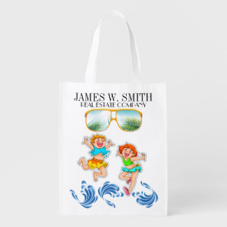 Real Estate Beach Tote - See Both Sides