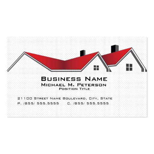 Real Estate Business Business Card