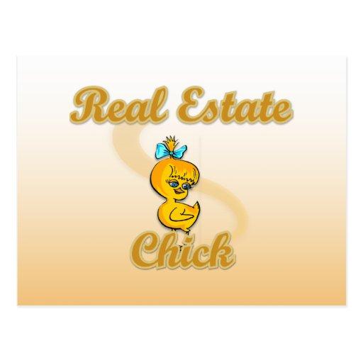 Real Estate Chick Postcards