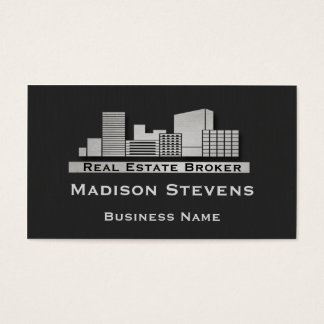 Real Estate City Logo Business Card Template