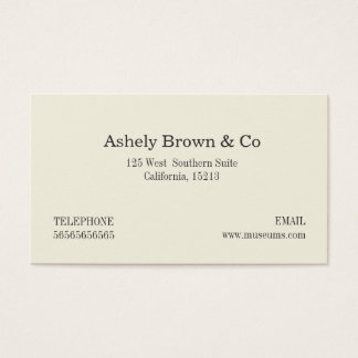 Real Estate Company Professional Business Card