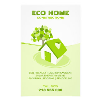 Real Estate / Construction Green Home flyer