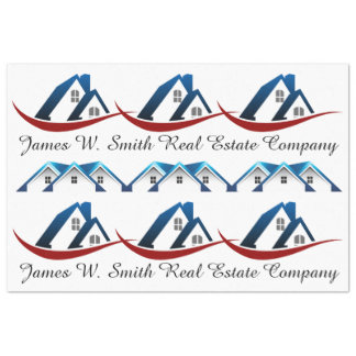 Real Estate Customized Gift Wrap Tissue Tissue Paper