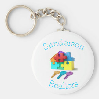 Real Estate, House and Keys, Realtor, estate agent Keychain