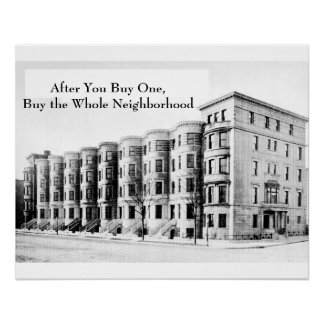 Real Estate Investment Print - The Neighborhood