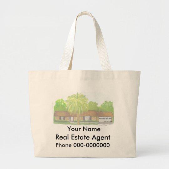 Real Estate Large Tote Bag