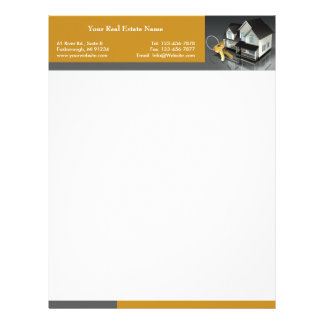 Real Estate Letterhead