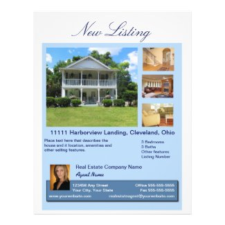 Real Estate New Listing Flyer