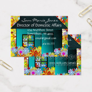 Real Estate or Stay at Home Mom Business Card