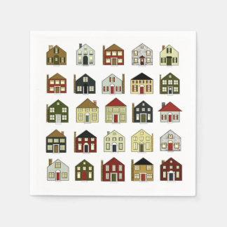 Real Estate Paper Napkin