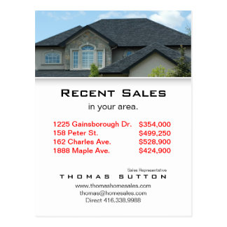 Real Estate Postcards Recent Sales Rooftop V