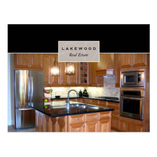 Real Estate Real Estate Agent Kitchen Postcard