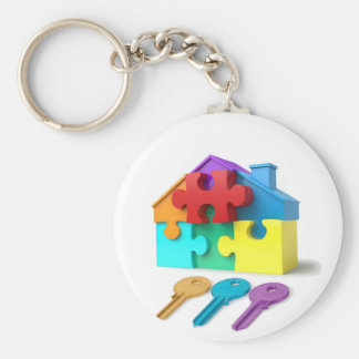 Real Estate, Realtor, estate agent, New Home Keychain