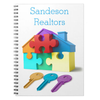 Real Estate, Realtor, estate agent, New Home Notebook