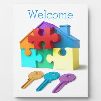Real Estate, Realtor, estate agent, New Home Plaque
