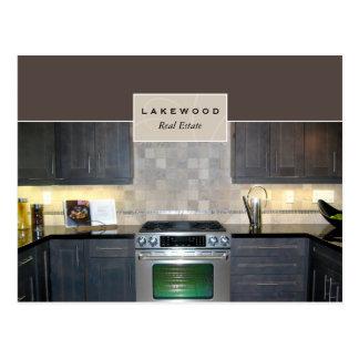Real Estate / Realtor Kitchen Postcard 2