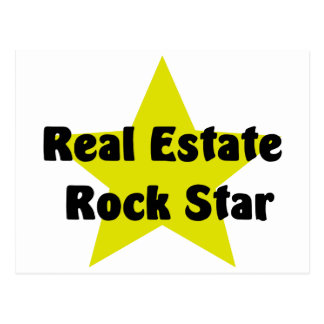 Real Estate Rock Star Post Cards