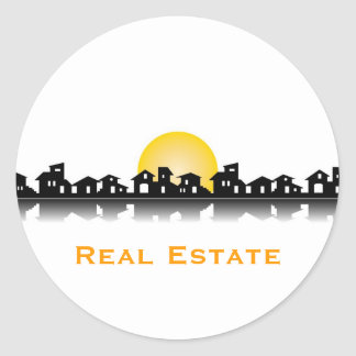 Real estate sticker