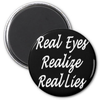 Real Eyes Magnet