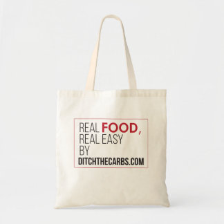Real Food Real Easy Grocery Tote