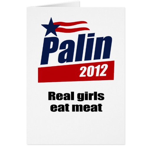Real girls eat meat card