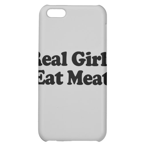 Real Girls Eat Meat .png iPhone 5C Cases