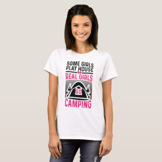 Real Girls Go Camping T-Shirt