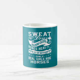 Real Girls Ride Horses Coffee Mug