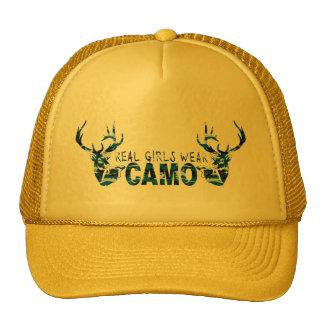 REAL GIRLS WEAR CAMO HATS