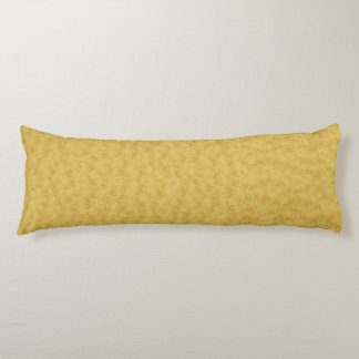 Real Gold Textured Designer Body Pillows