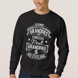 Real Grandpas Go cycling Sweatshirt