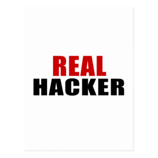 REAL HACKER POSTCARD