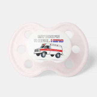 Real Hero EMT Pacifiers