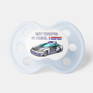 Real Hero Police Baby Pacifiers