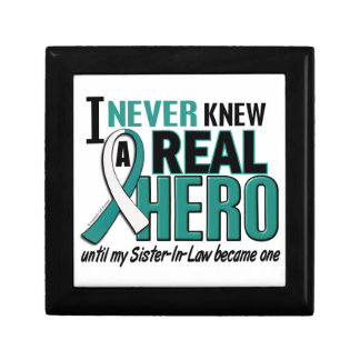 Real Hero Sister-In-Law Cervical Cancer Jewelry Boxes
