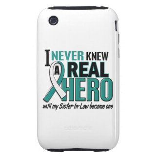 Real Hero Sister-In-Law Cervical Cancer Tough iPhone 3 Case