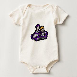 Real Hip Hop never die Baby Bodysuit