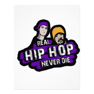 Real Hip Hop never die Letterhead