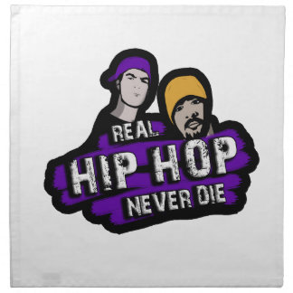 Real Hip Hop never die Napkin