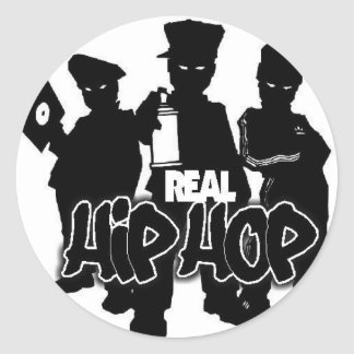 Real Hip Hop Stickers