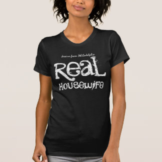 Real Housewife Custom Add Name and Town V04 T-shirts