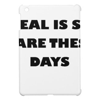 real is so rare these days iPad mini covers