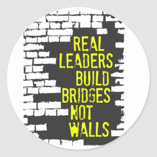 Real Leaders Sticker