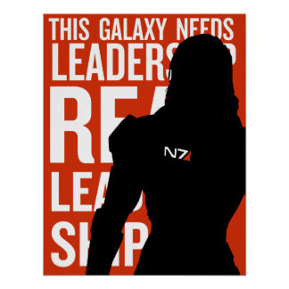Real Leadership: Femshep Poster