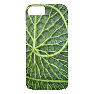 Real Leaf Veins Pattern Inspired iPhone Case