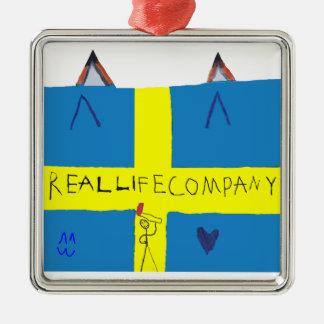 REAL LIFE Company LOGA Julgransprydnad Metal Ornament
